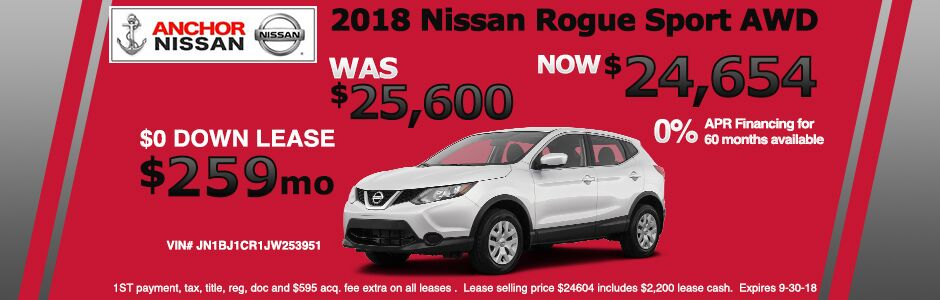 Delightful Nissan Offers From Anchor Nissan| Nissan Dealer RI