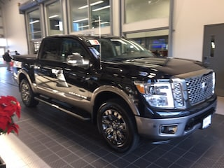 Used 2018 Nissan Titan PLATINUM RESERVE 4X4 W/ UTILITY BED PACKAGE CC near Providence