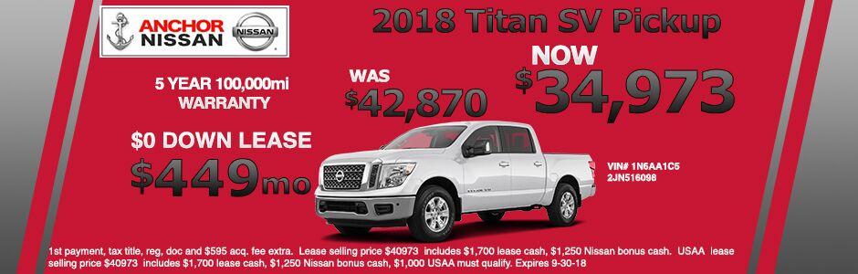 Nissan Offers From Anchor Nissan  Nissan Dealer RI