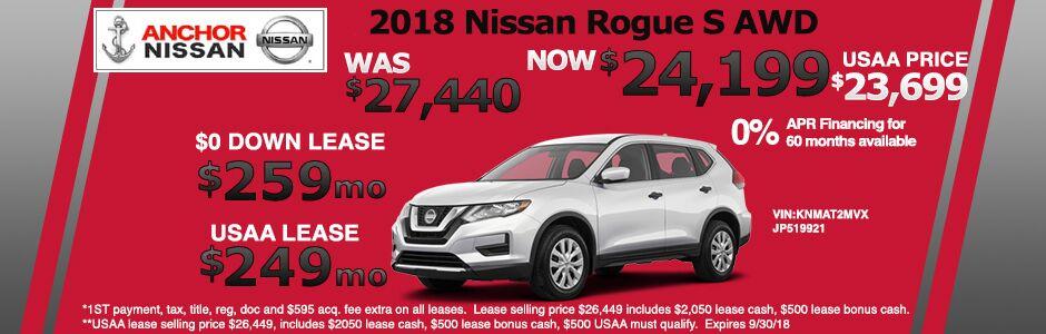 Nissan Offers From Anchor Nissan Nissan Dealer Ri Anchor Nissan