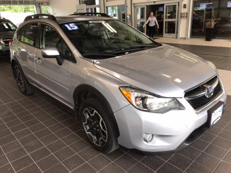 Used 2015 Subaru XV Crosstrek 2.0I LIMITED AWD W/ EYESIGHT NAVIGATION MOONROOF SUV in North Smithfield near Providence