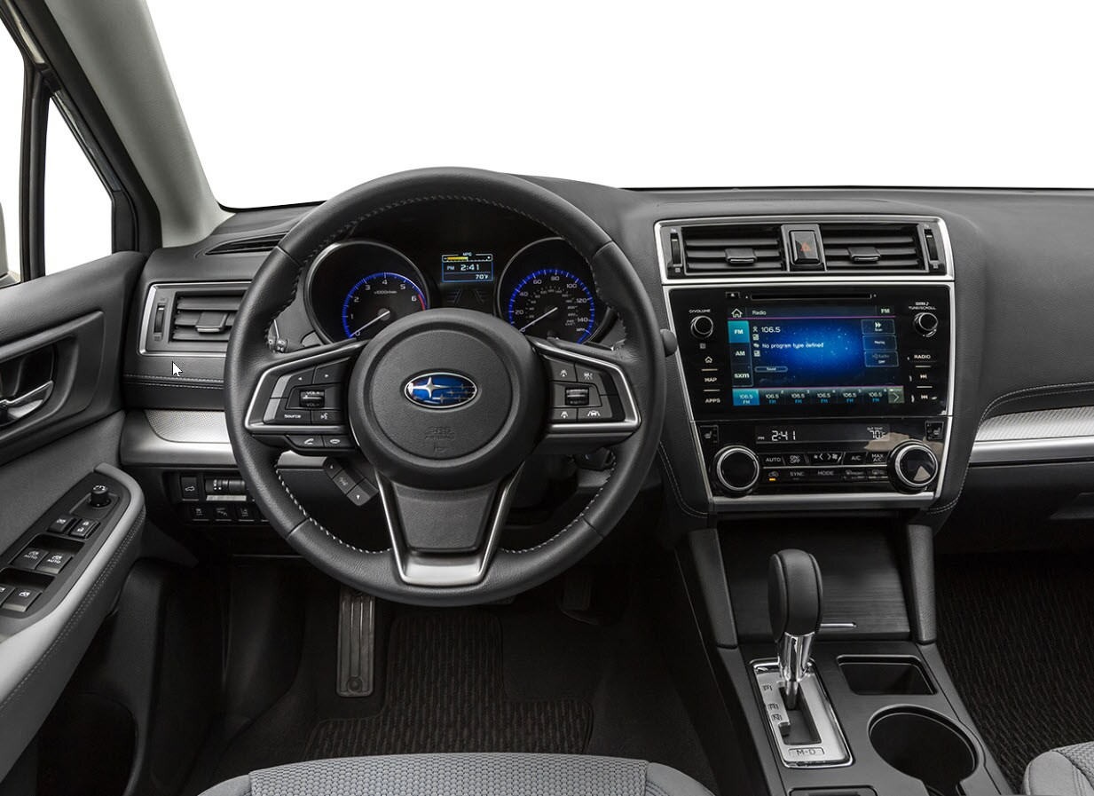 2019 Subaru Outback Premium Dashboard and Console