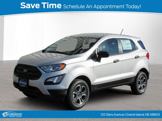 2019 Ford EcoSport S S 4WD