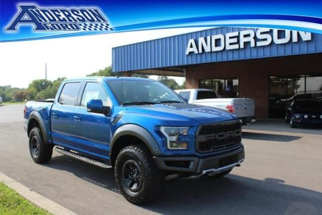 2018 Ford F-150 Raptor 4WD Supercrew 5.5 Box Crew Cab Pickup