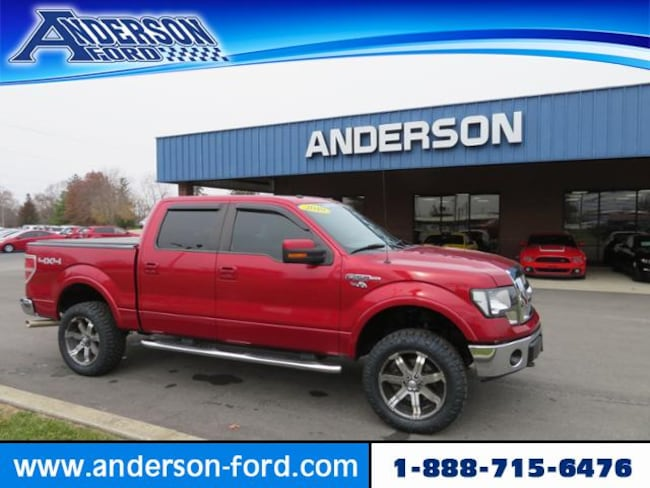 2010 Ford F-150 4WD Supercrew 145 Lariat Crew Cab Pickup