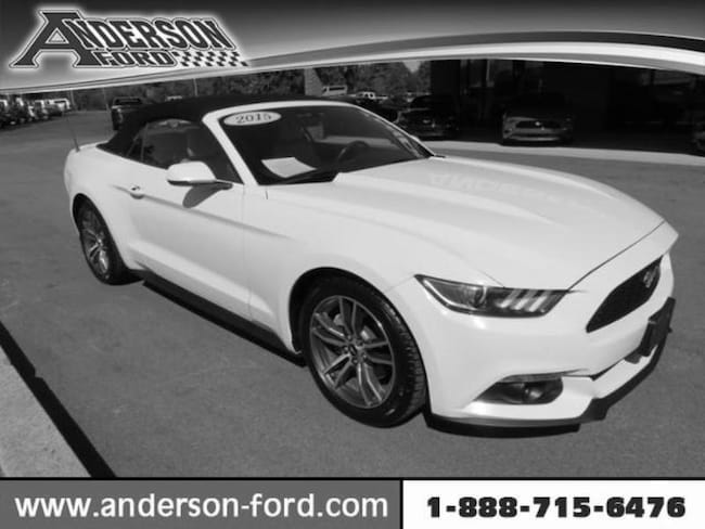 2015 Ford Mustang 2dr Conv Ecoboost Premium Convertible
