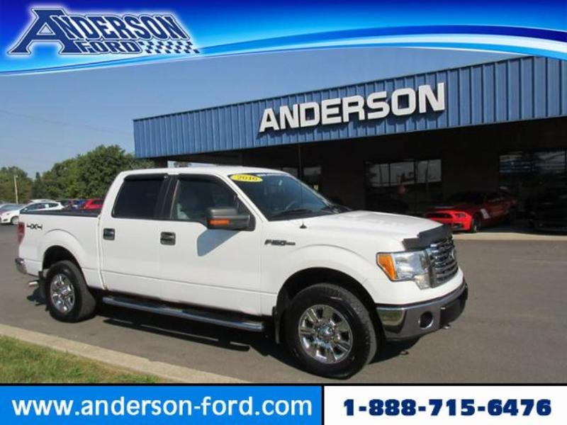 2010 Ford F-150 4WD Supercrew 145 XLT Crew Cab Pickup