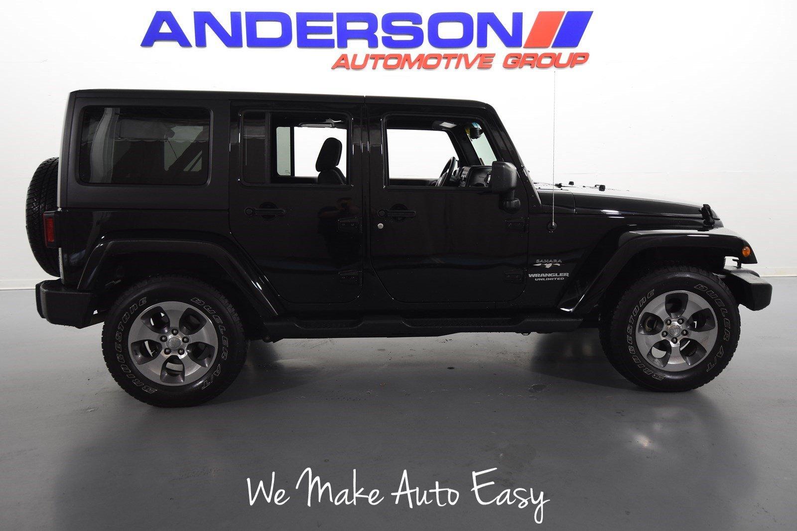 2016 Jeep Wrangler JK Unlimited Sahara 4x4 SUV