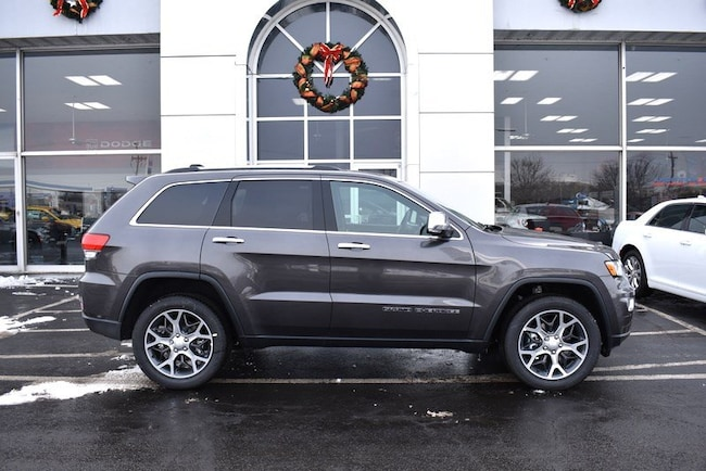 New 2019 Jeep Grand Cherokee LIMITED 4X4 Sport Utility in Rockford
