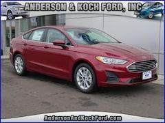 New 2019 Ford Fusion SE Sedan 3FA6P0HD5KR114517 for sale in North Branch, MN