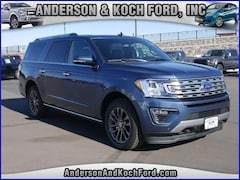 New 2019 Ford Expedition Max Limited SUV for sale in North Branch, MN