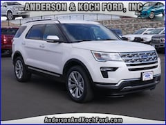 New 2019 Ford Explorer Limited SUV for sale in North Branch, MN