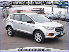 Used 2018 Ford Escape S SUV 1FMCU0F7XJUA70648 for sale in North Branch, MN