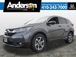 New 2019 Honda CR-V EX-L 2WD SUV for Sale in Cockeysville, MD, at Anderson Honda