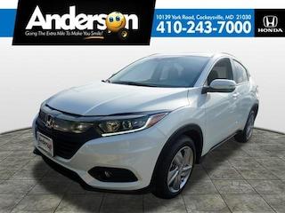 New 2019 Honda HR-V EX-L 2WD SUV for Sale in Cockeysville, MD, at Anderson Honda