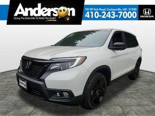 New 2019 Honda Passport Sport AWD SUV for Sale in Cockeysville, MD, at Anderson Honda