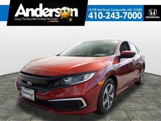 2019 Honda Civic LX Sedan KH527377 for Sale in Cockeysville MD at Anderson Honda