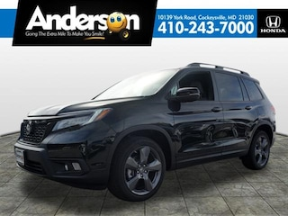 New 2019 Honda Passport Touring FWD SUV for Sale in Cockeysville, MD, at Anderson Honda