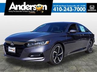 New 2019 Honda Accord Sport Sedan for Sale in Cockeysville, MD, at Anderson Honda