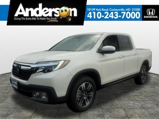 New 2019 Honda Ridgeline RTL-E AWD Truck Crew Cab for Sale in Cockeysville, MD, at Anderson Honda
