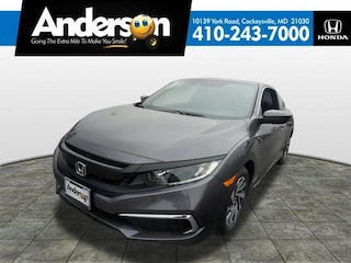 New 2019 Honda Civic LX Coupe for Sale in Cockeysville, MD, at Anderson Honda