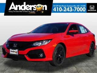 New 2019 Honda Civic EX-L w/Navi Hatchback for Sale in Cockeysville, MD, at Anderson Honda