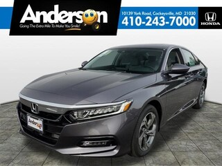 New 2019 Honda Accord EX-L Sedan for Sale in Cockeysville, MD, at Anderson Honda