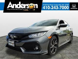 New 2019 Honda Civic Sport Hatchback for Sale in Cockeysville, MD, at Anderson Honda