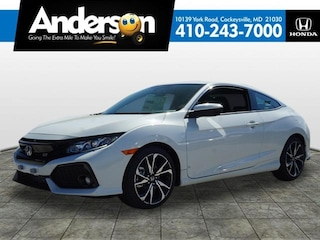 New 2019 Honda Civic Si Coupe for Sale in Cockeysville, MD, at Anderson Honda