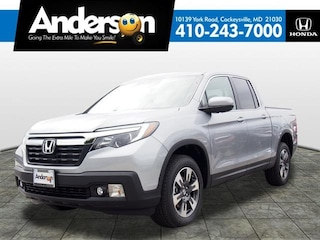 New 2019 Honda Ridgeline RTL-T AWD Truck Crew Cab for Sale in Cockeysville, MD, at Anderson Honda