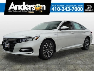 New 2019 Honda Accord Hybrid EX-L Sedan for Sale in Cockeysville, MD, at Anderson Honda