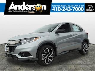 2019 Honda HR-V Sport AWD SUV KG719492 for Sale in Cockeysville MD at Anderson Honda