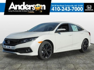New 2019 Honda Civic Sport Sedan for Sale in Cockeysville, MD, at Anderson Honda