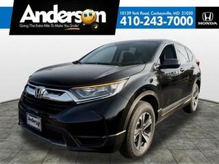 New 2019 Honda CR-V LX AWD SUV for Sale in Cockeysville, MD, at Anderson Honda