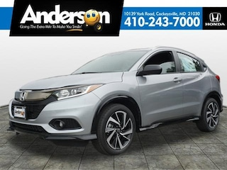 New 2019 Honda HR-V Sport 2WD SUV for Sale in Cockeysville, MD, at Anderson Honda