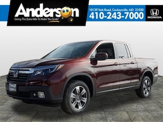 New 2019 Honda Ridgeline RTL AWD Truck Crew Cab for Sale in Cockeysville, MD, at Anderson Honda