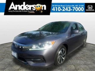 Certified Pre-Owned 2016 Honda Accord EX-L Sedan H6716 for Sale in Cockeysville MD at Anderson Honda