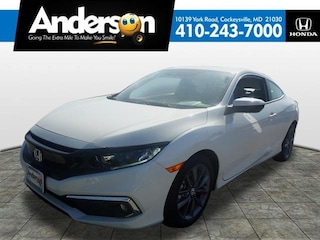New 2019 Honda Civic EX Coupe for Sale in Cockeysville, MD, at Anderson Honda