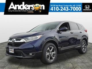 New 2019 Honda CR-V EX-L AWD SUV for Sale in Cockeysville, MD, at Anderson Honda