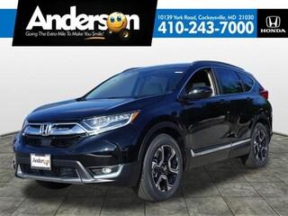 New 2018 Honda CR-V Touring 2WD SUV JE054685 for Sale near Baltimore, MD, at Anderson Honda