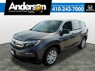 New 2019 Honda Pilot LX AWD SUV for Sale in Cockeysville, MD, at Anderson Honda