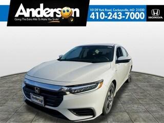 New 2019 Honda Insight LX Sedan for Sale in Cockeysville, MD, at Anderson Honda