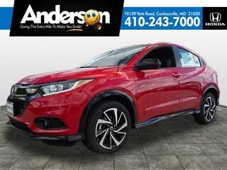 2019 Honda HR-V Sport AWD SUV KG716175 for Sale in Cockeysville MD at Anderson Honda