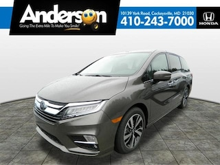 2019 Honda Odyssey Elite Van KB038638 for Sale in Cockeysville MD at Anderson Honda