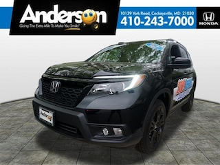 New 2019 Honda Passport Sport AWD SUV for Sale in Cockeysville, MD, at Anderson Honda