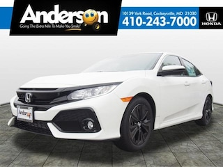 New 2019 Honda Civic EX Hatchback for Sale in Cockeysville, MD, at Anderson Honda
