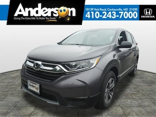 New 2019 Honda CR-V LX AWD SUV for Lease in Cockeysville, MD, at Anderson Honda