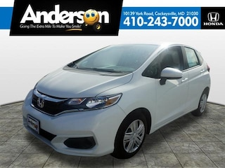 New 2019 Honda Fit LX Hatchback for Sale in Cockeysville, MD, at Anderson Honda