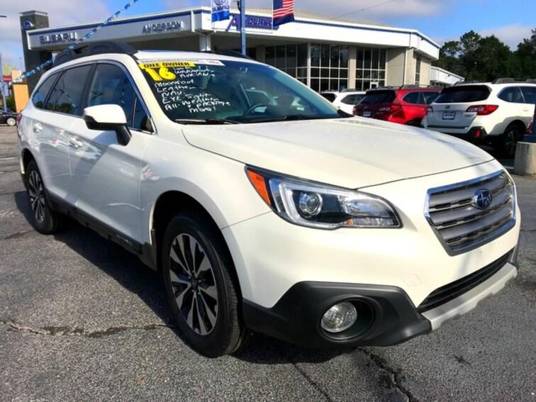 Certified 2016 Subaru Outback 2.5i Limited SUV Pensacola, FL