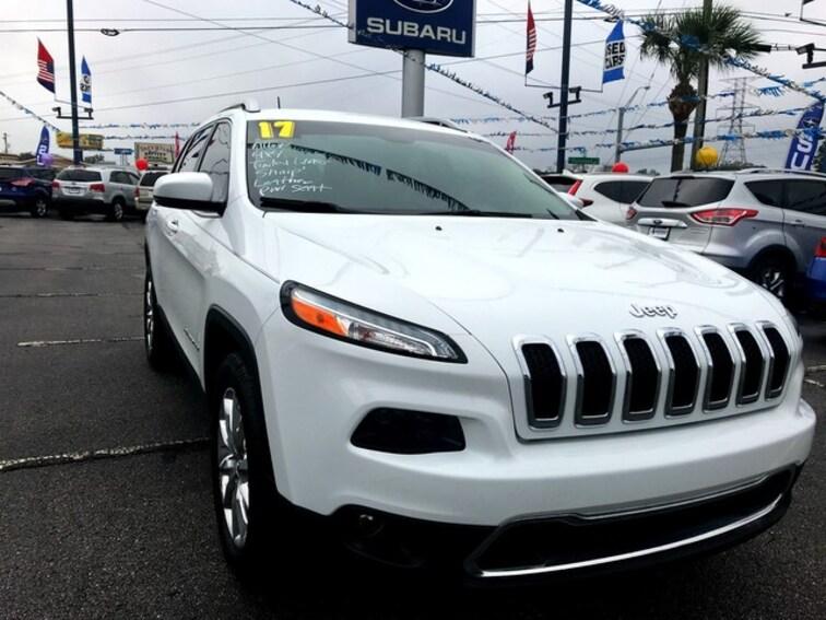 Used 2017 Jeep Cherokee Limited SUV Pensacola, FL